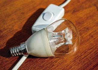 Descuento en factura de la luz